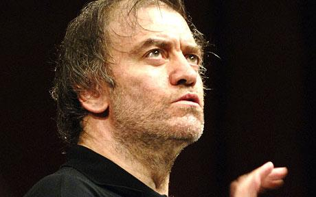 Conductor Valery Gergiev. Photo from www.telegraph.co.uk website.