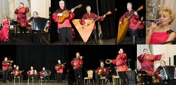 Barynya Balalaika Orchestra at the Petroushka Ball 2009 New York City