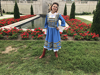 Elina Karokhina, Congress Park, Saratoga Springs, New York, Sunday, August 26th, 2018