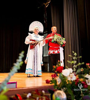 Elina Karokhina, Mikhail Smirnov, Matryoshka Festival, Clinton, Massachusetts, Sunday, May 14, 2017
