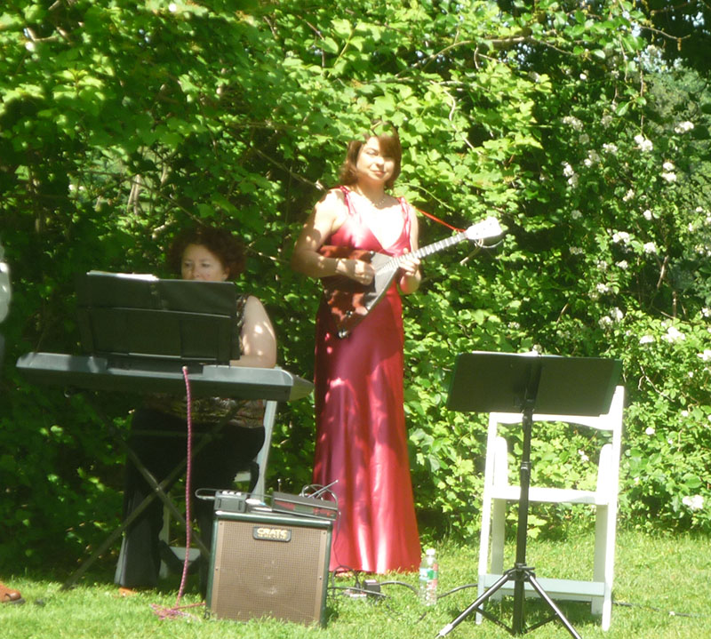 Balalaika and Piano Duo, Classical Music for wedding ceremony, Elina Karokhina