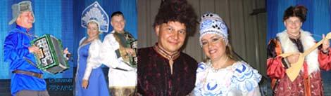 Михаил Смирнов на фестивале ФОЛКЛОРАМА 2007