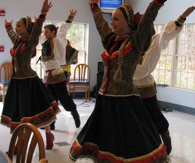 Russian folk song and dance BARYNYA