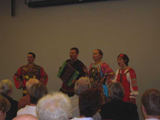 Russian dance and music ensemble Barynya New Jersey, 2009
