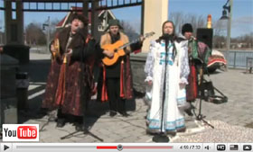 Barynya performance at the Russian Winter Festival in Albany, New York on February 28, 2009