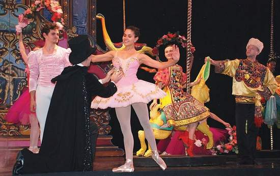 "Aspen Santa Fe Ballet gives its annual performances of ""The Nutcracker"" at the Aspen District Theatre.