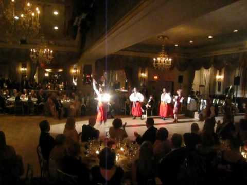 bARYNYA DANCERS, Russian Nobility Ball, 2011, Pierre Taj Hotel, New York City