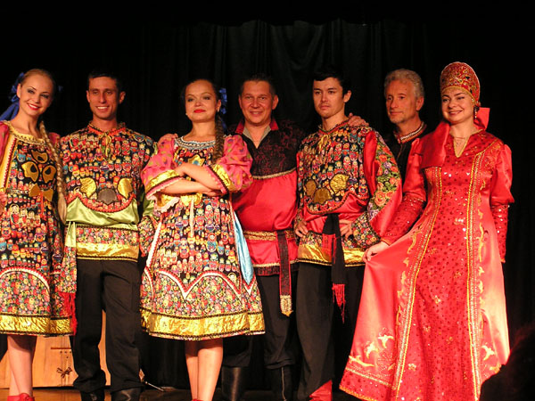 Russian dance and music ensemble Barynya. Concert October 21st, 2012. Middle Country Public Library, 575 MC Road, Selden, New York