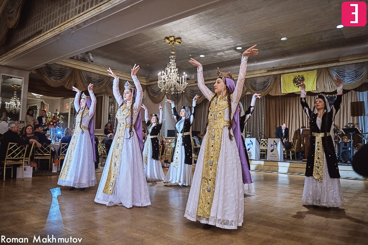 Georgian dancers, Hotel Pierre, New York City, Photo by Roman Makhmutov