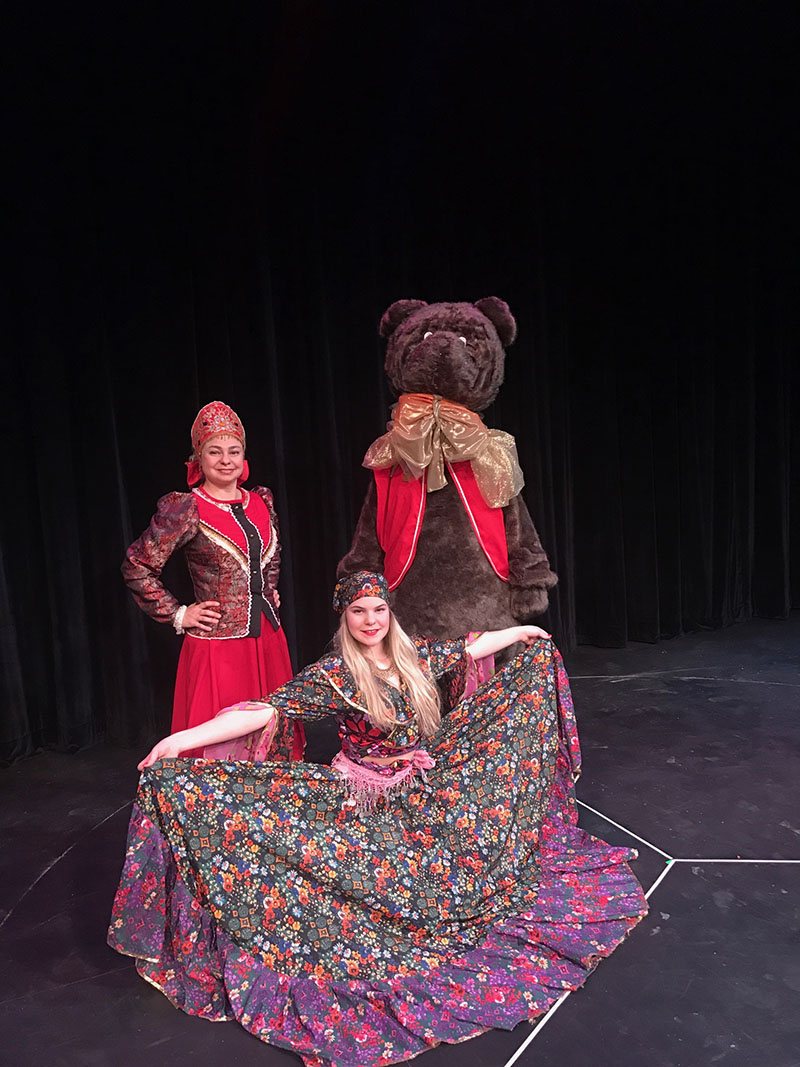 NJ Russian dance and music Trio
