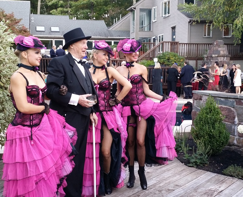 French Paris Style Moulin Rouge Themed Cabaret party in New Jersey