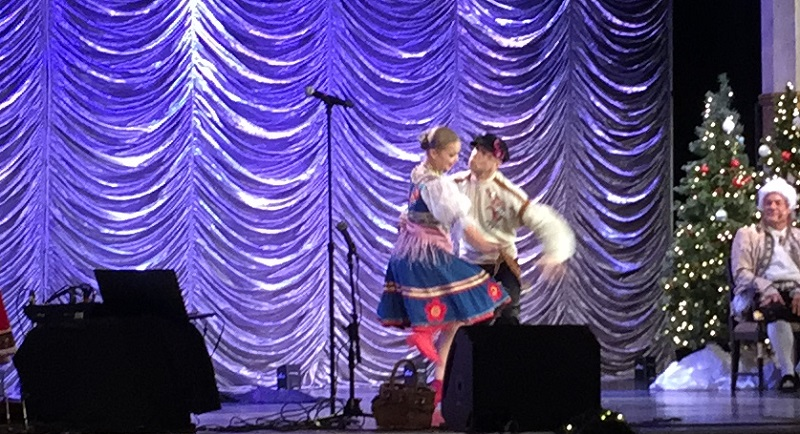 Barynya, Russian dancers, music, songs, garmoshka, balalaika, balalaika, contrabass balalaika, Clearwater, Florida, Russian Winter Extravaganza, The Fort Harrison Hotel