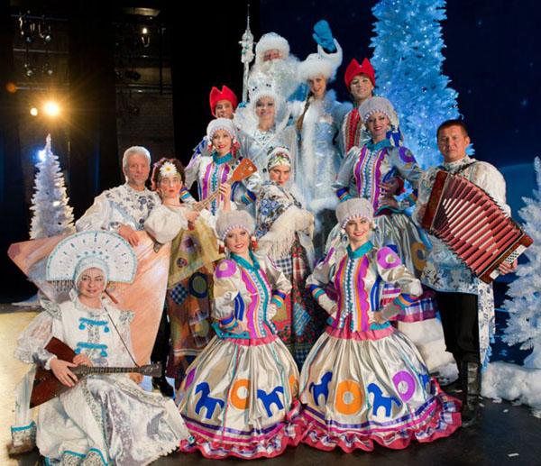 Russian Winter Musical Fairytale The Snow Maiden