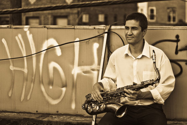 Boris Kurganov saxophone player from NYC