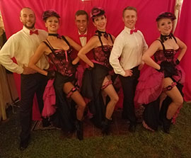 French Cancan, Moulin Rouge, Cabaret, Can-Can dancers, Catskill Mountains, Phoenicia, New York, Phoenicia International Festival of The Voice, The Infernal Galop from Jacques Offenbach's Orpheus in the Underworld