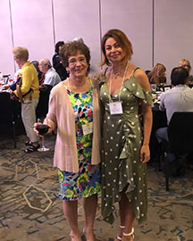 Elina Karokhina, MaryJane Malackany, 40th Anniversary conference, Balalaika and Domra Association of America, Valley Forge Casino Resort, King Of Prussia, Pennsylvania, USA, BDAA-2018
