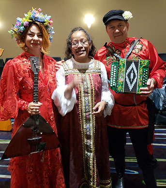 Elina Karokhina, Mikhail Smirnov, BDAA-2018, 40th Anniversary conference, Balalaika and Domra Association of America, Valley Forge Casino Resort, King Of Prussia, Pennsylvania, USA