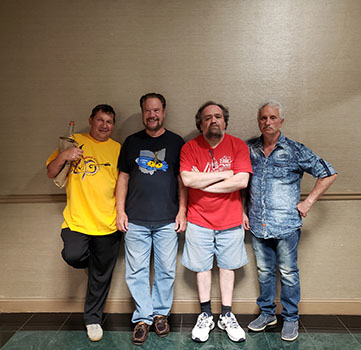 Mikhail Smirnov, David Cooper, Victor Gorodinskiy, Leonid Bruk, 40th Anniversary conference, Balalaika and Domra Association of America, Valley Forge Casino Resort, King Of Prussia, Pennsylvania, USA, BDAA-2018