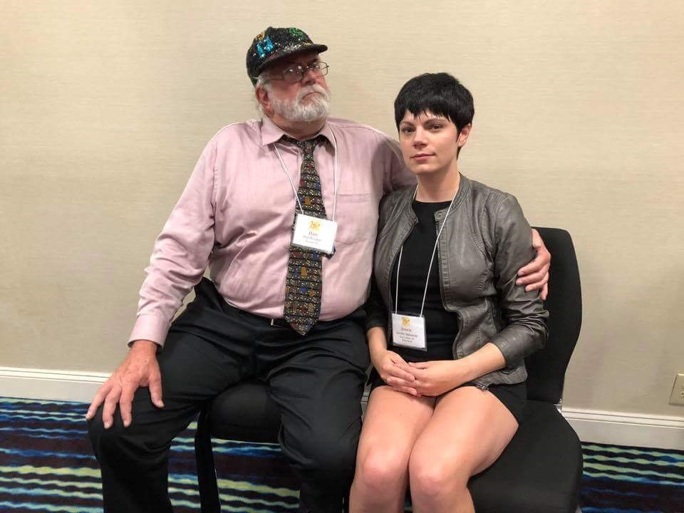 Dan Nicolini, Jennie Bukowski, BDAA-2018, 40th Anniversary conference, Balalaika and Domra Association of America, Valley Forge Casino Resort, King Of Prussia, Pennsylvania, USA