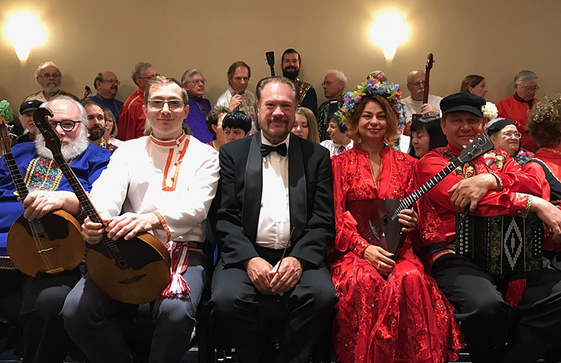 BDAA-2018, 40th Anniversary conference of the Balalaika and Domra Association of America, Valley Forge Casino Resort, King Of Prussia, Pennsylvania, USA, Charley Rappaport, Peter Omelchenko, David Cooper, Elina Karokhina, Mikhail Smirnov