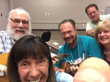 Judyth Sherman, Charley Rappaport, David Cooper, Lynn McConnell, Greg Carageorge, BDAA-2018, 40th Anniversary conference, Balalaika and Domra Association of America, Valley Forge Casino Resort, King Of Prussia, Pennsylvania, USA
