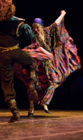 "Ensemble Barynya, photo by Dalia Bagdonaite, Gypsy dance ""Two Guitars"""