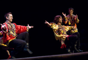 "Ensemble Barynya, photo by Dalia Bagdonaite, Russian dance ""Kalinka"""