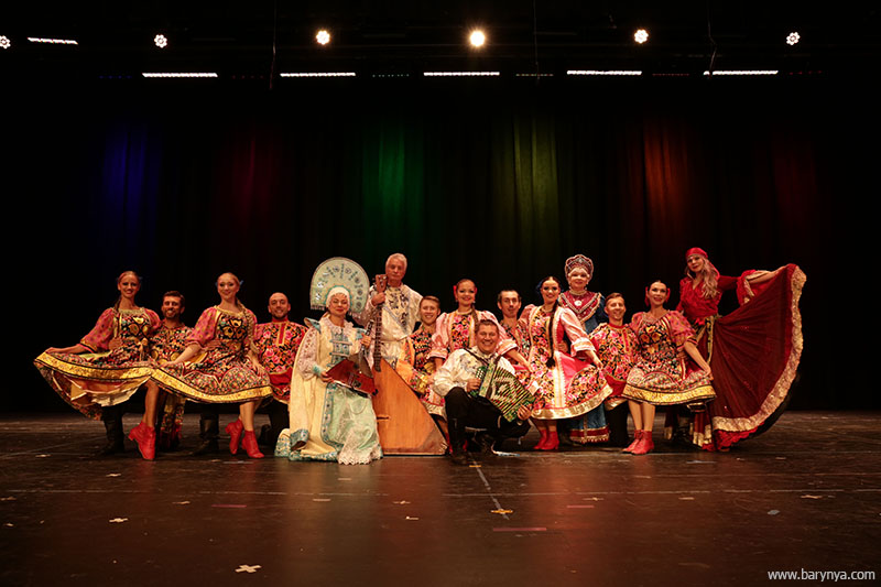 Russian Dance, Song and Music ensemble Barynya, Artistic Director Mikhail Smirnov, Saturday, October 13, 2018, Freeport High School, Freeport Community Concert Association, FCCA, Freeport, Long Island, New York, photo credit Yuriy Balan, Valentina Kvasova, Alexander Rudoy, Simona Zhukovski, Serhiy Tsyganok, Irina Biryukova, Konstantin Tulinov, Olga Yeliseyeva, Olga Chpitalnaia, Ilia Pankratov, Vladimir Nikitin, Mikhail Smirnov, Elina Karokhina, Leonid Bruk, Irina Zagornova, Alisa Egorova