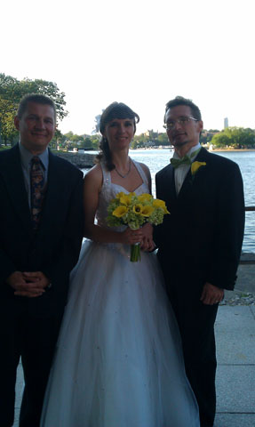 Russian Wedding Officiant Mikhail, July 09, 2011, Glen Island Harbour Club, Glen Island Park, New Rochelle, New York