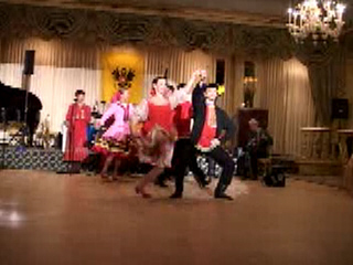 "Russian folk dance ""Quadrille"" performed by ensemble ""Barynya"" from New York"