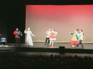 "New York based Russian Folk Dance and Music ensemble Barynya performing ""Subboteya"""