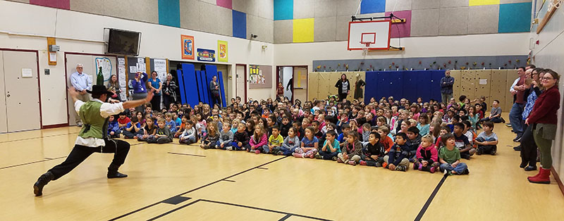 North Omak Elementary, Omak, WA, Washington State