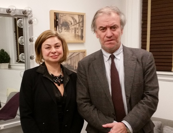 Elina Karokhina, Valery Gergiev, BAM, Howard Gilman Opera House in Brooklyn, New York, January 14, 2015
