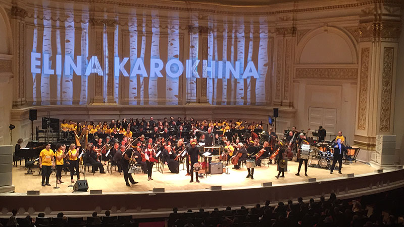Elina Karokhina, Carnegie Hall, New York City