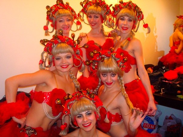 Can-Can dancers, Carnegie Hall, New York City