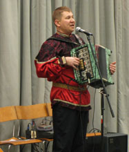 Mikhail Smirnov, ensemble Barynya concert in Chicago, Illinois