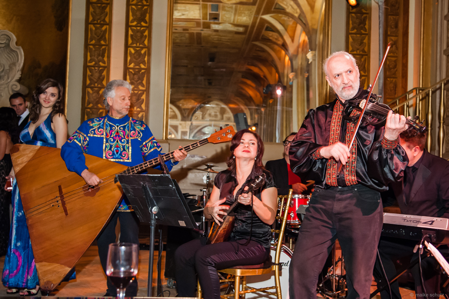02-07-2014, NY Balalaika Band and Orchestra, Sergei Riabtsev, Elina Karokhina, Leonid Bruk, Igor Lutsev, Friday, February 7th, 2014, Plaza Hotel NYC, 768 5th Ave, New York, NY