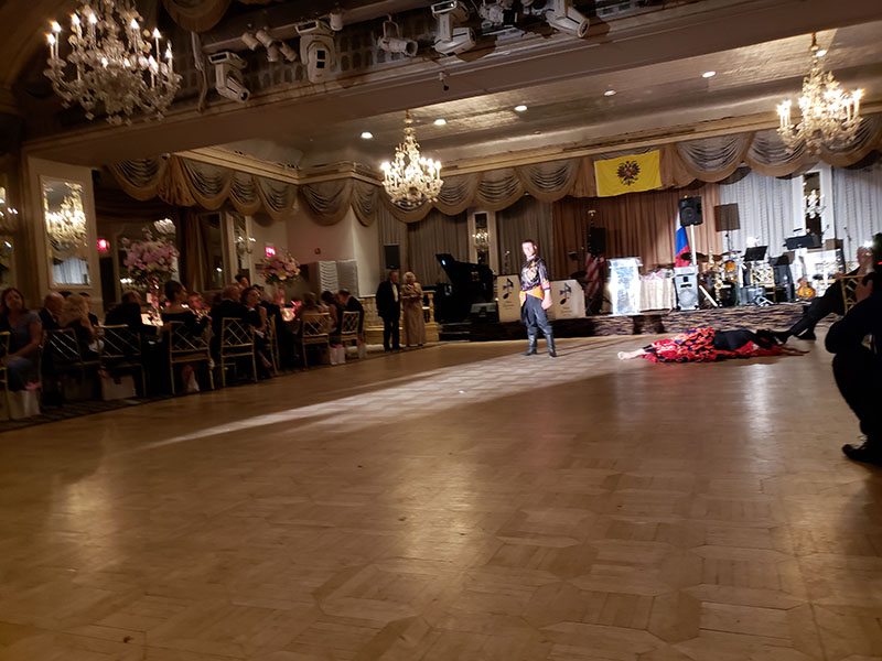 Russian Nobility Ball 2018, The Pierre Hotel, A Taj Hotel, New York City, Alexander Rudoy, Olga Chpitalnaia