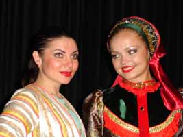 """Russian Brides"" Russian Cossack Dance and Song Duo from Brooklyn, NY"