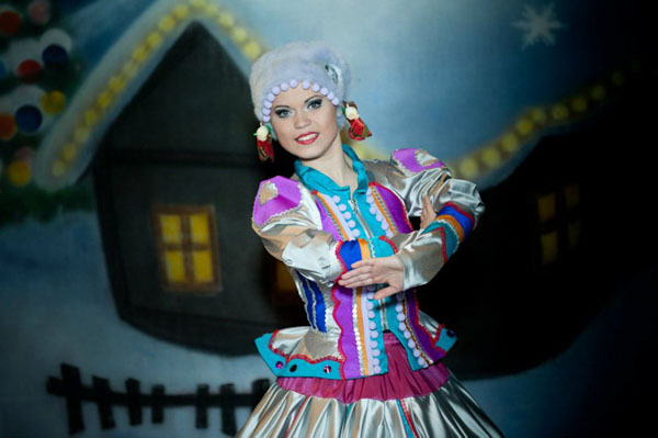 Russian dancer Irina from Brooplyn, New York