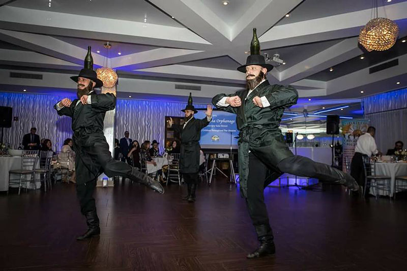 Bottle Dancers, fundraiser event, Ohel David and Shlomo, 710 Shore Blvd, Brooklyn, NY 11235, Tuesday, January 30th, 2018