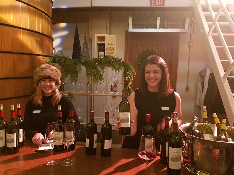 Russian Christmas at the Jordan Winery, Healdsburg, Sonoma County, California