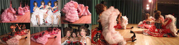 Moulin Rouge French Cabaret dancers in New Jersey