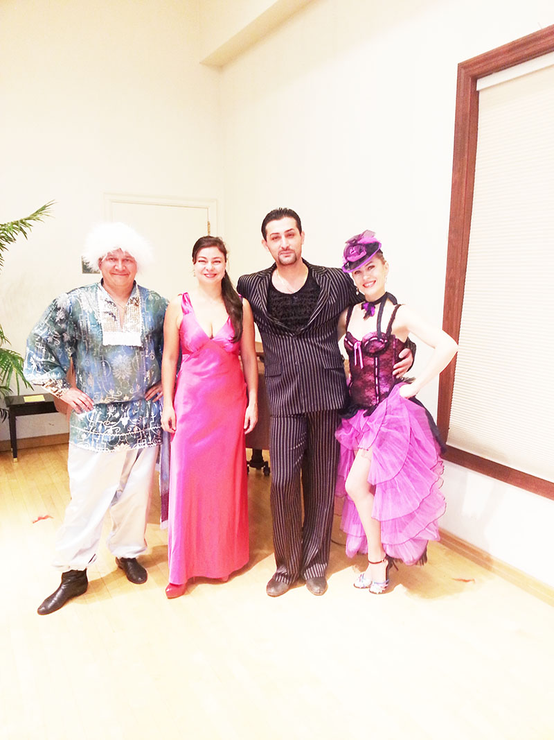 Sunday, January 5, 2014, Can-Can Cabaret Dancers, Ridgewood Public Library, Ridgewood, New Jersey, Bergen County