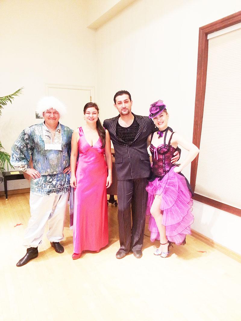 Sunday, January 5, 2014, Can-Can Cabaret Dancers, Ridgewood Public Library, Ridgewood, New Jersey, Bergen County
