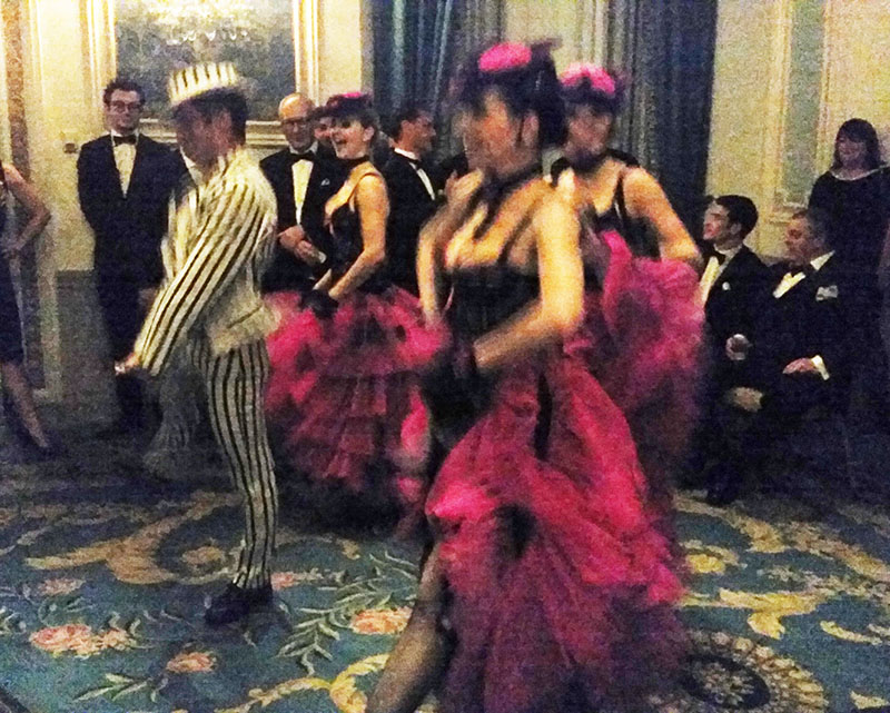 The French Can-Can Cabaret Dancers, Waldorf Astoria NYC, Wednesday, May 18, 2016
