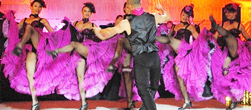Barynya Entertainment, Cabaret Can-Can Moulin Rouge Dancers New York French Themed Entertainment