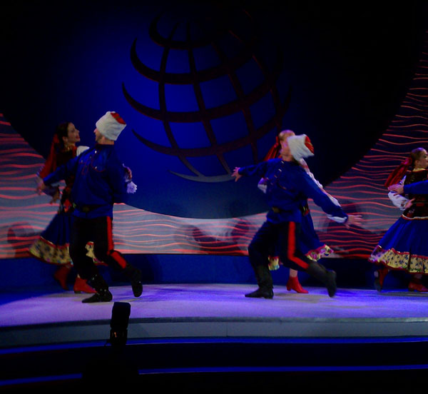 Barynya Russian Cossack dancers, corporate event NYC, PEPSICO, Museum Of Natural History NYC