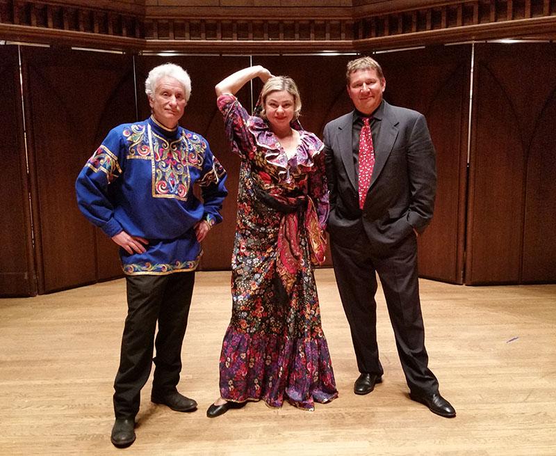Barynya Balalaika trio, Connecticut, Leonid Bruk, Elina Karokhina, Mikhail Smirnov, Memorial Chapel, 221 High Street,  Middletown, CT