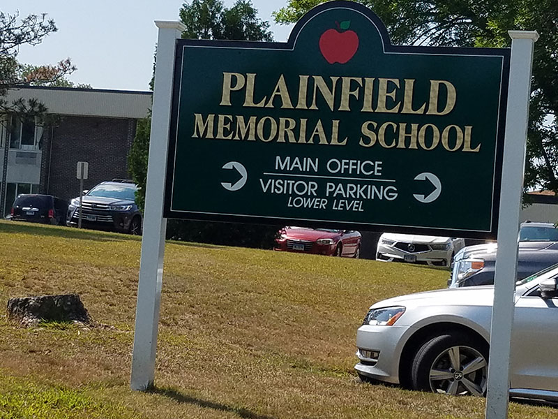 Plainfield Memorial School, Plainfield, Connecticut